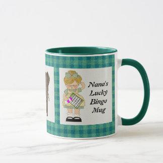 Nana's Lucky Bingo Mug