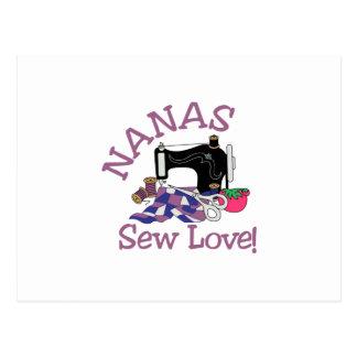 Nanas Postcard