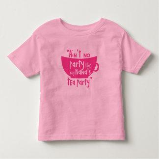 Nana's Tea Party Toddler T-Shirt