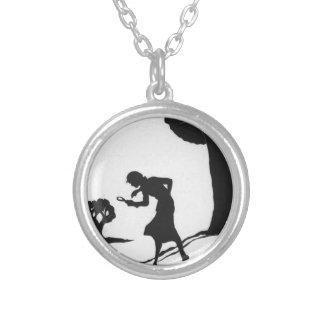 Nancy Drew Round Pendant Necklace