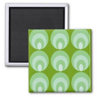 Nancy - Green Square Magnet