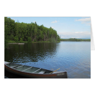 Nancy Lake, Alaska Card