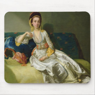 Nancy Parsons in Turkish Dress, c.1771 (oil on cop Mouse Mat