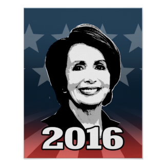 NANCY PELOSI 2016 Candidate Print