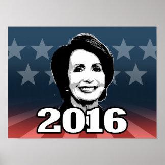 NANCY PELOSI 2016 Candidate Poster