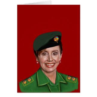 Nancy Pelosi aka Baghdad Bob Greeting Card