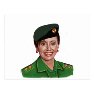Nancy Pelosi aka Baghdad Bob Postcard
