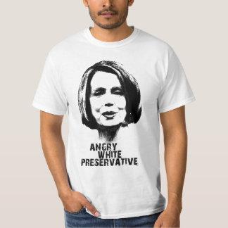 Nancy Pelosi: Angry White Preservatve Shirt
