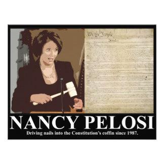 Nancy Pelosi Constitution coffin nails Invite