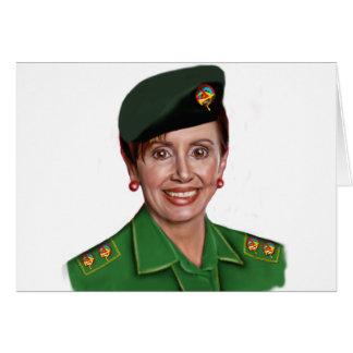Nancy Pelosi -  Democrat Party's Baghdad Bob Greeting Card