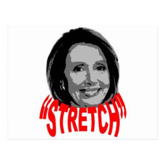 Nancy Stretch Pelosi Post Card
