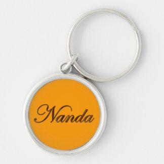 NANDA Name-Branded Gift Keychain or Zipper-pull