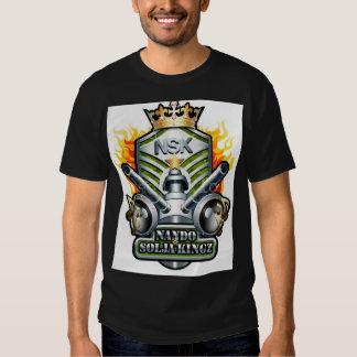 nando y solja kingz t-shirts