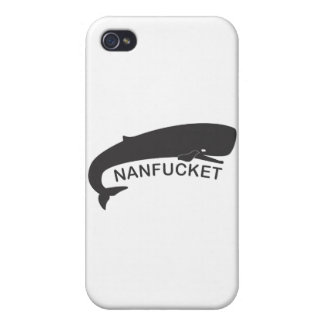 Nanfucket Black Cases For iPhone 4
