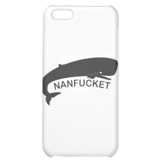 Nanfucket Black iPhone 5C Case
