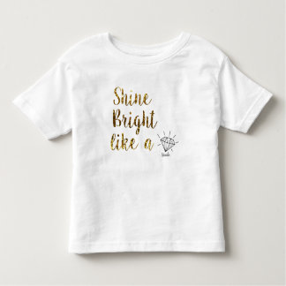 nanlix KIDS White Toddler T-Shirt