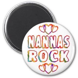 Nannas Rock 6 Cm Round Magnet