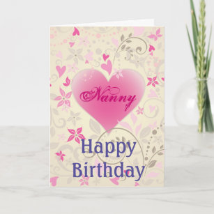 For Nanny Birthday Cards