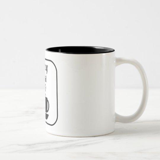 Nanny Fuel Two-Tone Coffee Mug