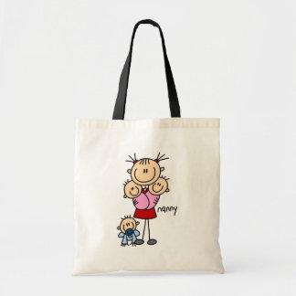 Nanny Stick Figure Bag