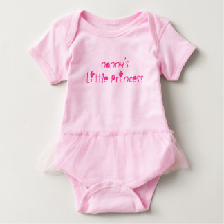Nanny's Little Princess Baby Bodysuit