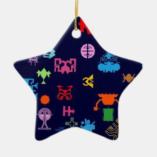 Nano Future Fun Ceramic Star Decoration