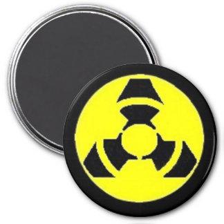 Nano Hazard 7.5 Cm Round Magnet