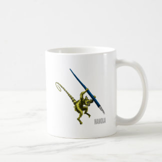 NaNoLA - Lemur with fountain pen Coffee Mug