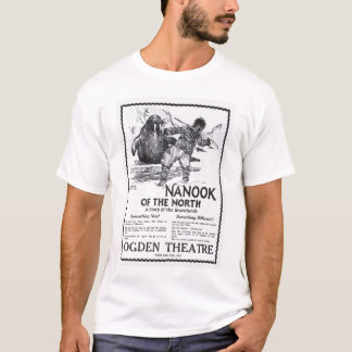 Nanook Of The North 1922 vintage movie ad T-shirt