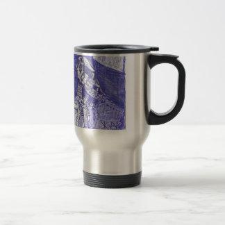 nanoorganicrobotic stainless steel travel mug