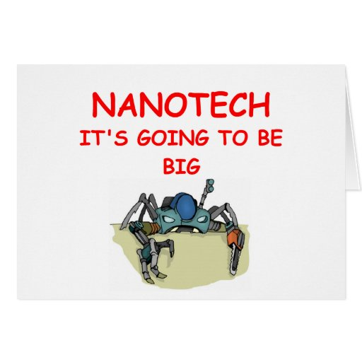 NANOTECH GREETING CARD
