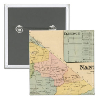 Nanticoke 15 Cm Square Badge