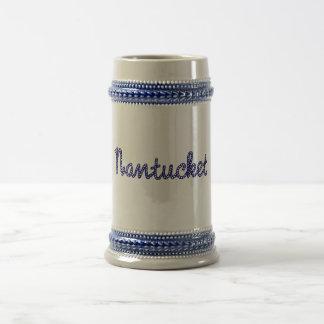 Nantucket Beer Stien Beer Stein