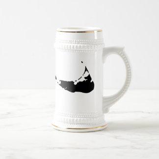 Nantucket Black Gold Beer Stien Coffee Mugs