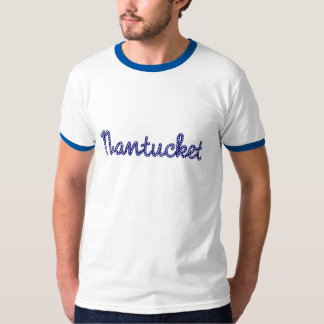 Nantucket Blue Men's Ringer Tee