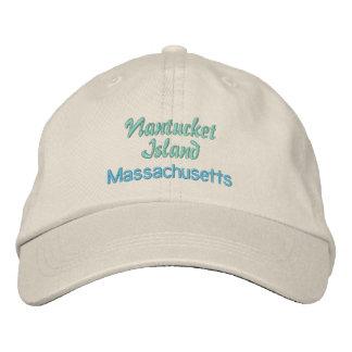 NANTUCKET cap Embroidered Baseball Caps