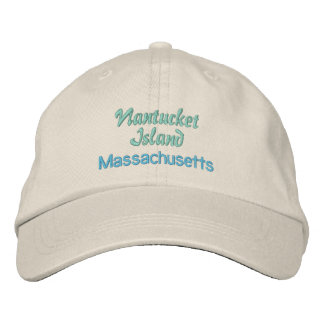 NANTUCKET cap Embroidered Hats