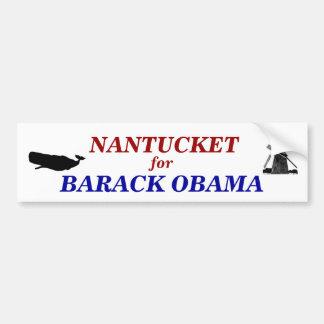 Nantucket for Barack Obama 2012 Bumper Sticker