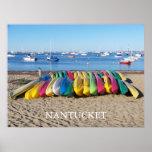 Nantucket Kayaks Poster