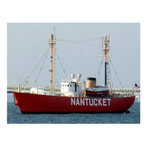 Boat Sales Cape Cod: Nantucket MA Cape Cod Boat In Harbour Post Card