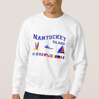 Nantucket MA Signal Flag Sweatshirt