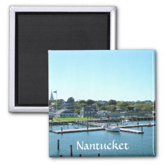 Nantucket Marina Cape Cod MA Fridge Magnet