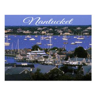 Nantucket Massachusetts Cape Cod Postcard
