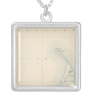 Nantucket, Massachusetts Silver Plated Necklace
