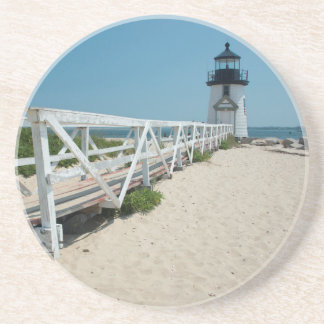 Nantucket. Old Wooden Lighthouse Coaster