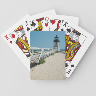 Nantucket. Old Wooden Lighthouse Playing Cards
