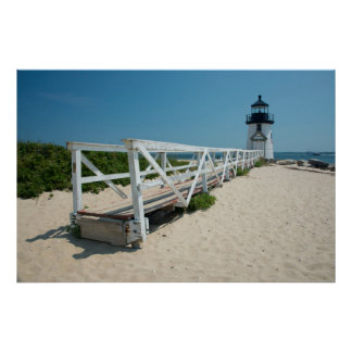 Nantucket. Old Wooden Lighthouse Poster