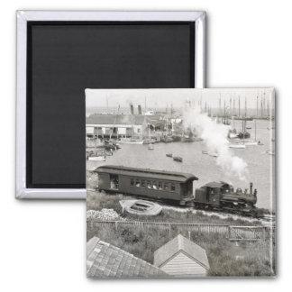Nantucket Railroad Magnet
