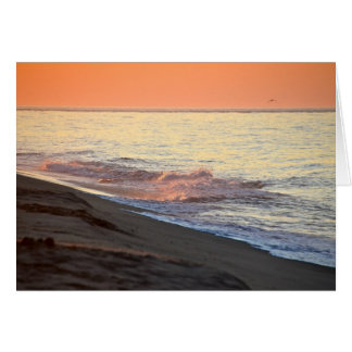 nantucket sunrise card