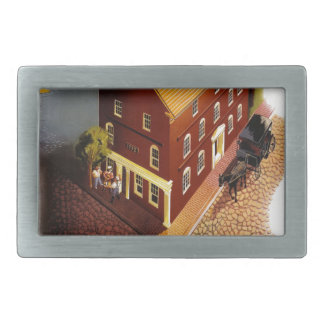 Nantucket. The New Haven Railroad Rectangular Belt Buckle